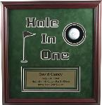 Hole-In-One Framed Award FST-1