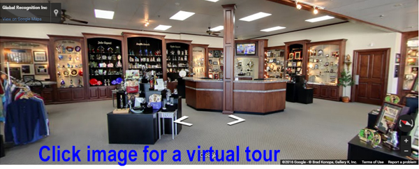 virtual tour of Global Recognition