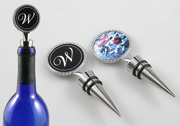 wine stopper with your custom design